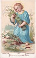 """Ancienne Image Pieuse Religieuse Bouasse Jeune 3202 """"Récolte Pour Le Ciel"""" - Religion & Esotérisme"""