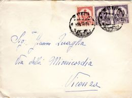 Lettre Ordinaire Avec Timbres Armoiries Idris I.; , Selon Scan, Lot 95033 - Libye