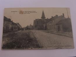 Crombeke - église Et Rue De Westvelteren - Cartes Postales