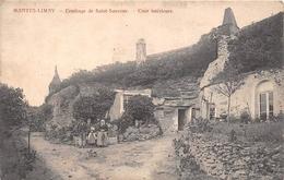 ¤¤   -  MANTES - LIMAY   -  Ermitage De Saint-Sauveur  -  Cour Intérieure   -  ¤¤ - Limay