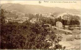 NAMUR - L'Ile Vas-t-y-frotte Et Panorama De La Plante - Namur