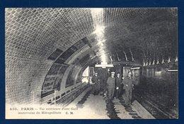 75. Paris. Vue Intérieure D'une Gare Du Métropolitain. 1923 - Stations, Underground