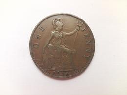 1 Penny Münze Aus Großbritannien Von 1936 (sehr Schön Bis Vorzüglich) - 1902-1971: Postviktorianische Münzen
