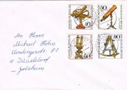 32080. Carta DUSSELDORF (Alemania Federal) 1981.  Shet Optische Instruments - [7] República Federal