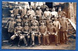Carte Photo  - Groupe De Soldats Allemands  - - Guerre 1914-18