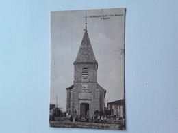 Sommancourt   L'eglise   ( Unique  Sur Delcampe) - Autres Communes