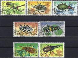 Mongolia 1991 - Mi 2277/83- YT 1843/49 ( Insects : Beetles )  Complete Issue - Mongolie