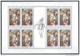 2002 SLOVAQUIE 368** Cirque, Tableau, Accordéon, Feuillet, Kleinbogen - Nuovi