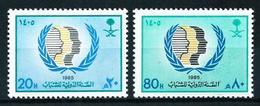 Arabia Saudita Nº 605/6 En Nuevo - Arabia Saudita