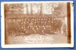 Carte Photo  -  Soldats Allemands   1915  -  Abimée - Guerre 1914-18