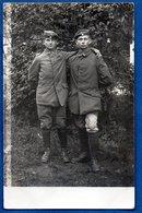 Carte Photo  -  Soldats Allemands - Guerre 1914-18