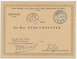 Dienst S Hertogenbosch - Velp 1914 - Militie Commissaris - Periode 1891-1948 (Wilhelmina)