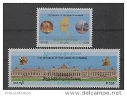 Myanmar - Birmanie (2012)  - Set -  /  Independance - Map - Independency - Myanmar (Birma 1948-...)