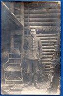 Carte Photo  -  Soldat Allemand - Guerre 1914-18