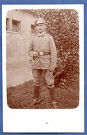 Carte Photo  -  Soldat Allemand - War 1914-18