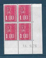 Coins Datés France Neuf**,  N°1892 Yt, 1976, Marianne De Béquet 1.00 Franc - Coins Datés