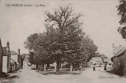 45 - La Nivelle - CPA - La Place - Frankrijk