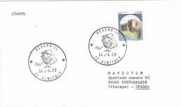 32088. Carta VERONA Italia 1989. Theme Wein, Vino. Feria 23 VINITALY - 6. 1946-.. Repubblica