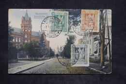 "ALLEMAGNE - Affranchissement Tricolore "" Marienweder "" Sur Carte Postale En 1920 - L 25771 - Allemagne"