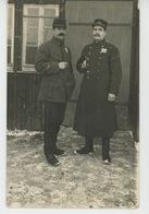 GUERRE 1914-18 - ALLEMAGNE - OHRDRUF I. THÜR - Carte Photo Militaires Français Prisonniers De Guerre Au Camp D'OHRDRUF - Guerre 1914-18