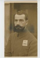 GUERRE 1914-18 - ALLEMAGNE - OHRDRUF I. THÜR - Carte Photo Militaire Français Prisonnier De Guerre Au Camp D'OHRDRUF - Guerre 1914-18