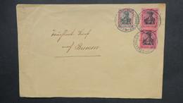 Allemagne Lettre 1917 De Geislingen Pour Breme  , DR  Brief Mt Paar Nach Bremen - Allemagne