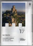 SAN MARINO 2017 - Annata Completa 23 Valori Compreso 140° Merletto + Roma + 3 BF - San Marino