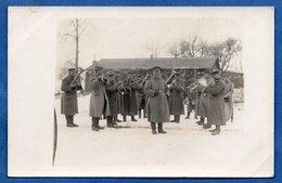 - Carte Photo  -  Soldats Allemands  -- Orchestre - Guerre 1914-18