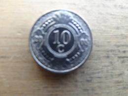 Antilles  Neerlandaises    10  Cents  2008  Km 34 - Antille Olandesi