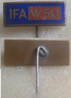 1960s GERMAN DDR IFA W50 TRUCK , INDUSTRIAL ASSOCIATION VEHICLE - Enamel Badge, Pin - Fiat