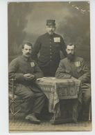 GUERRE 1914-18 - ALLEMAGNE - LANGENSALZA - Carte Photo Militaires Français Prisonniers De Guerre Au Camp De LANGENSALZA - Guerre 1914-18