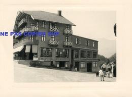 Photo Les Houches Haute Savoie 1958 - Lieux