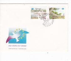 Portugal Portogallo FDC 1991 Ano Europeu Do Turismo Fauna - Storia Postale