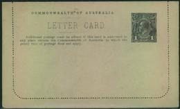 "1915, Letter Card 1 D Georg Landscape ""Coal Cliff, Coller, N.S.W. - Australie"