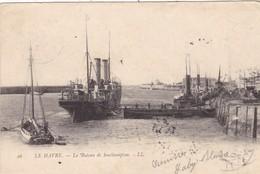 76. LE HAVRE. CPA. LE BATEAU DE SOUTHAMPTON. ANNEE 1903 - Le Havre