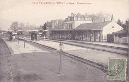 CPA (81) SAINT SULPICE LA POINTE La Gare (Vue Intérieure) (2 Scans) - Saint Sulpice