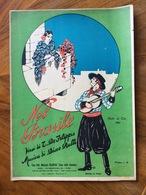 GRAFICA EDITORIALE  1927 SPARTITO MUSICALE NEL BRASILE Di Di De Filippis-Rulli.DIS. MANNI 927   ED, FRANCHI ROMA - Volksmusik