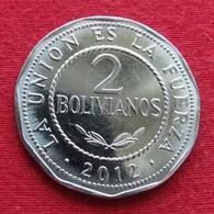 Bolivia 2 Bolivianos 2012 *V2   Bolivie - Bolivia