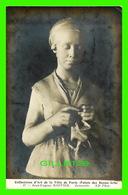 CÉLÉBRITÉS, SCULTEUR - JEAN-EUGÈNE BAFFIER (1851-1920) - JEANNETTE - COLLECTIONS D'ART DE LA VILLE DE PARIS - N D PHOT - - Autres Célébrités