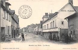 MONTFORT SUR RISLE - Le Bourg - Hôtel FLEURY - France