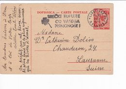 Yugoslavia Lubiana Ljubljana Slovenia Postal Stationery 1955 Jugoslavia - Interi Postali