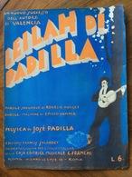 GRAFICA EDITORIALE 1925 SPARTITO MUSICALE  LEILAH Di Padilla-Huguet-Vanner ED, FRANCHI ROMA    Solo La Copertina - Volksmusik