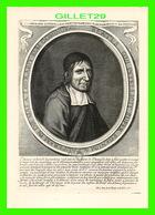 CÉLÉBRITÉS, MÉDECIN - JEAN HAMON (1618-1687) PORT-ROYAL, DOMAINE DES GRANGES -  EDIT. D'ART A. P. - - Autres Célébrités
