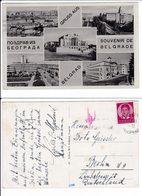 Yugoslavia Serbia Belgrade Postcard 1948 3 Scan - 1945-1992 Repubblica Socialista Federale Di Jugoslavia
