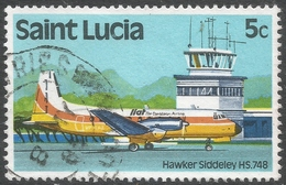 St Lucia. 1980 Transport. 5c Used. SG 537 - St.Lucia (1979-...)