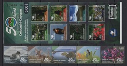 Ecuador (2018) - Booklet + Set -   /  Fauna - Vogel - Parrot - Birds - Oiseaux - Fauna - Landscapes - Flowers - Fleurs - Arends & Roofvogels