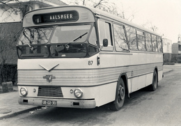 Bus Leyland/Verheul, Maarse & Kroon,Foto In Aalsmeer 1965, SVA - Auto's