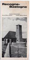 DEPLIANT (8 Pages) - Cimetière Militaire Allemand  -  MILITARIA - Toeristische Brochures