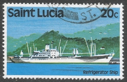 St Lucia. 1980 Transport. 20c Used. SG 540 - St.Lucia (1979-...)