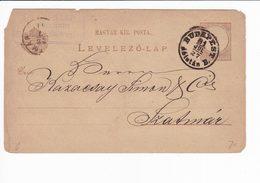 Ungheria Hungary Postal Stationery 1927 Levelezo Lap. Budapest - Interi Postali
